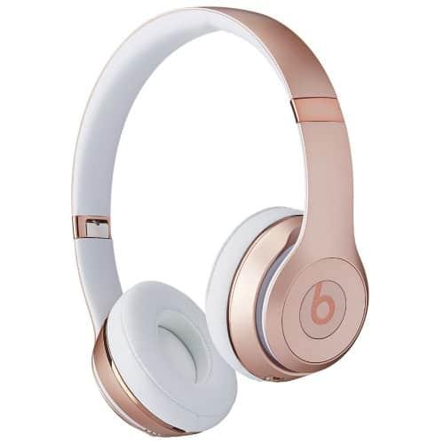 Beats Rose Gold Headphones