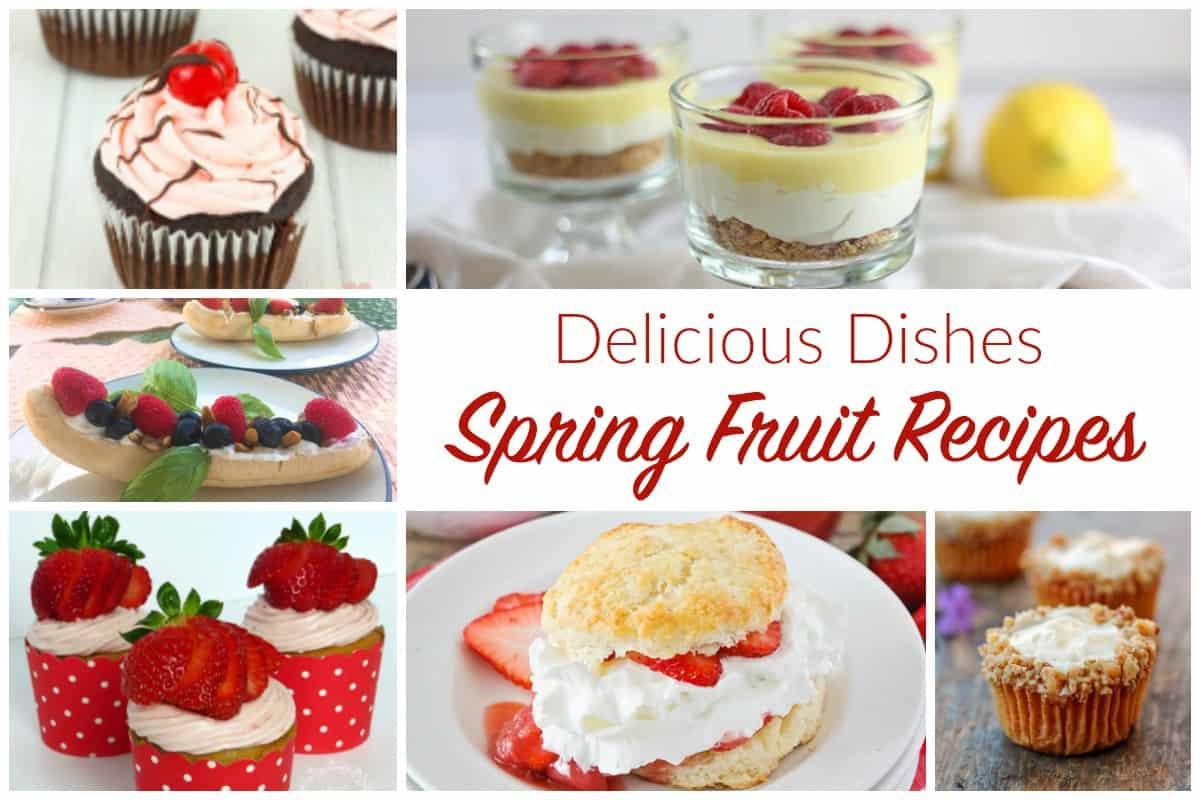 Spring Fruit Recipes