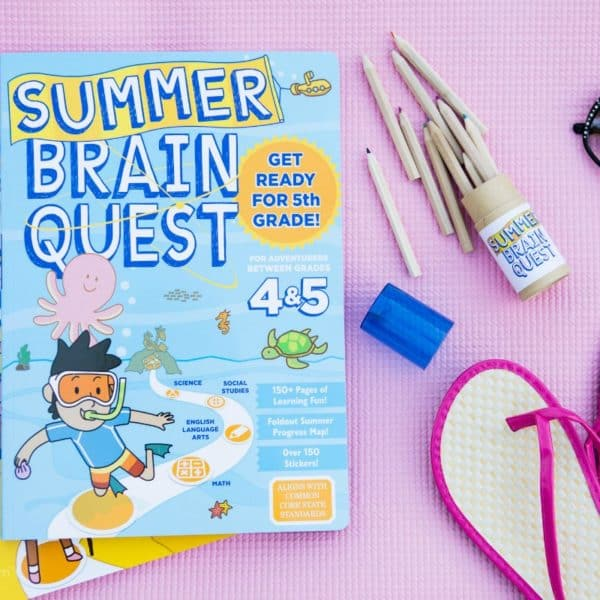 Kid-Approved, Totally Fun Way To Stop Summer Slide – Go On A Summer Brain Quest
