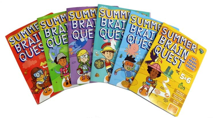 SummerBrainQuest Workbooks