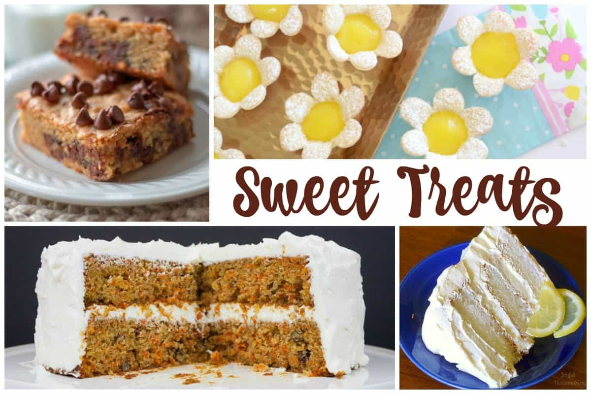 Sweet treats - Delicious Dishes