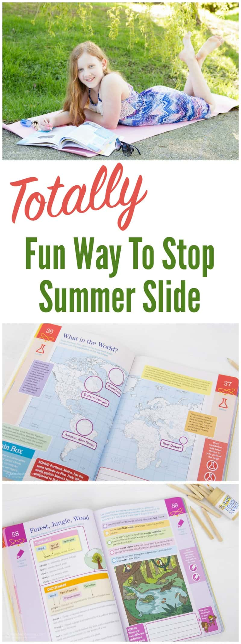 Totally Fun Way To Stop Summer Slide
