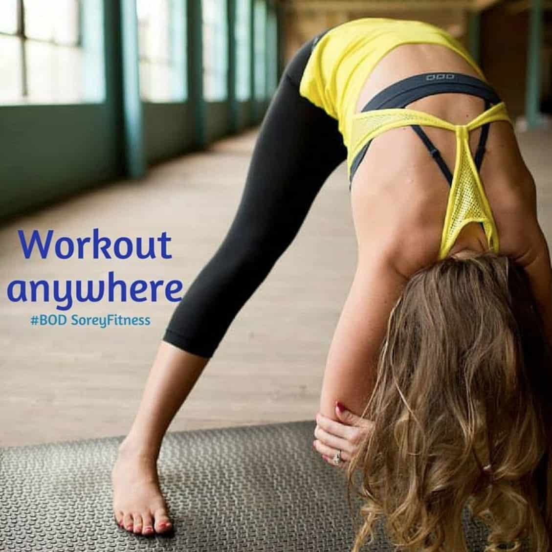 Workout Anywhere - Sorey Fitness