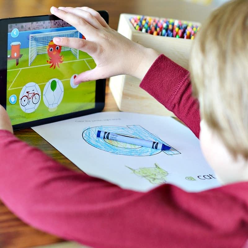 reading activities online and offline