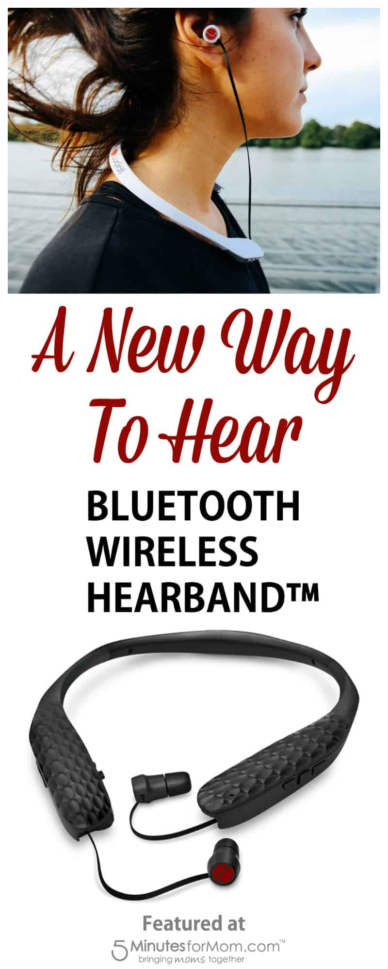 A New Way To Hear - Bluetooth Wireless HearBand