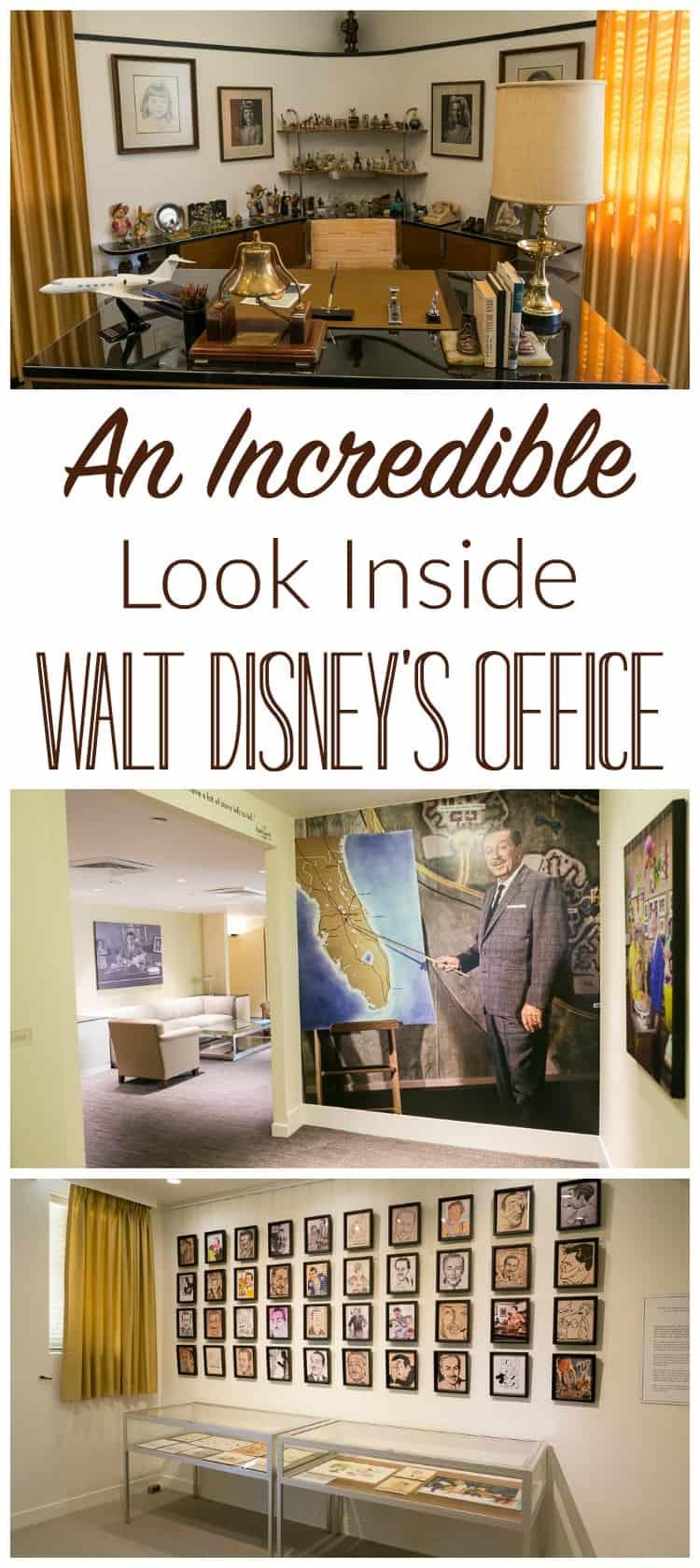 An Incredible Look Inside Walt Disneys Office