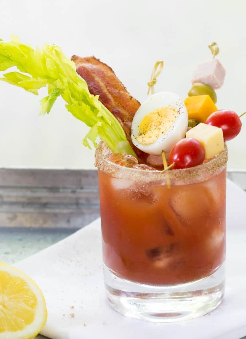 Bacon and Egg Caesar Cocktail Recipe