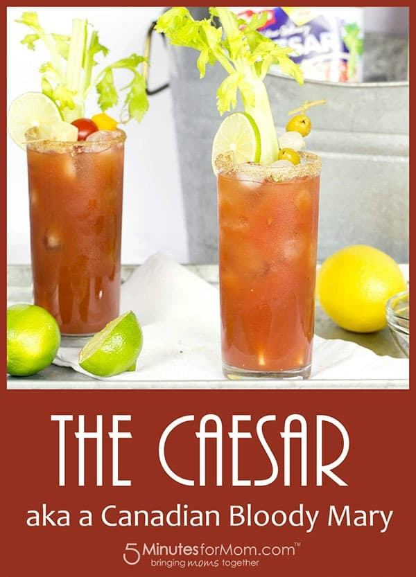 Caesar Cocktail Recipe - Canadian Bloody Mary