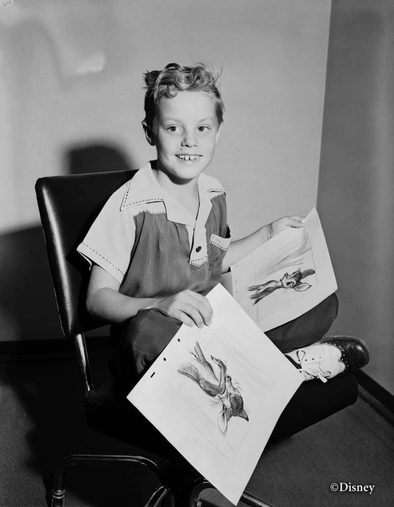 BAMBI Disney archive image - Donnie Dunagan - Young Bambi Voice