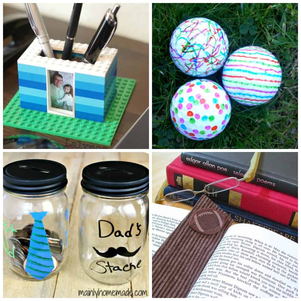 20 Father's Day Gifts Kids Can Make