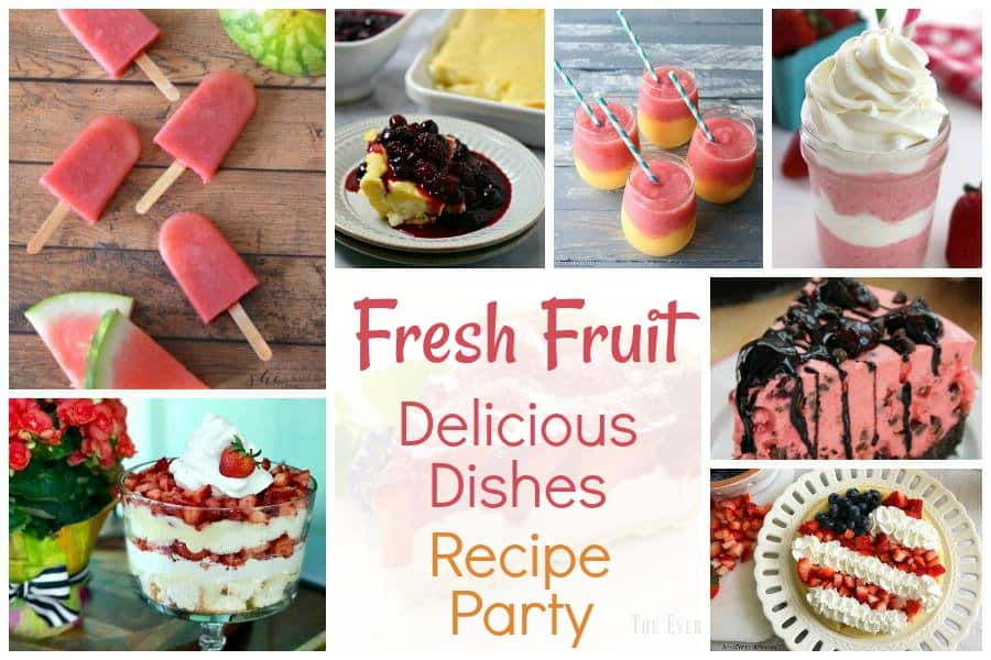 Fresh Fruit Recipes - Delicious Dishes Recipes