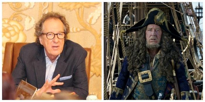 Geoffrey Rush -Pirates of the Caribbean - Captain Barbossa