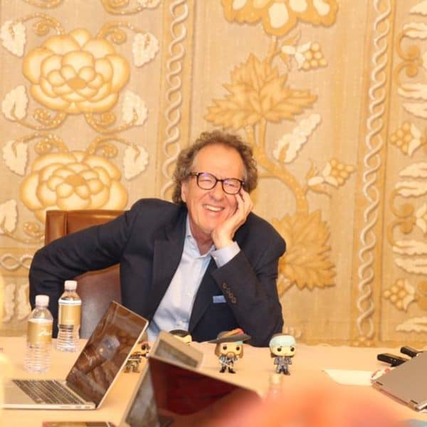 Pirates of the Caribbean Interview with Geoffrey Rush #PiratesLifeEvent