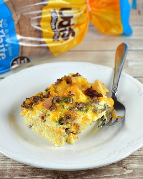 Gluten Free Breakfast Casserole from Quirky Inspired