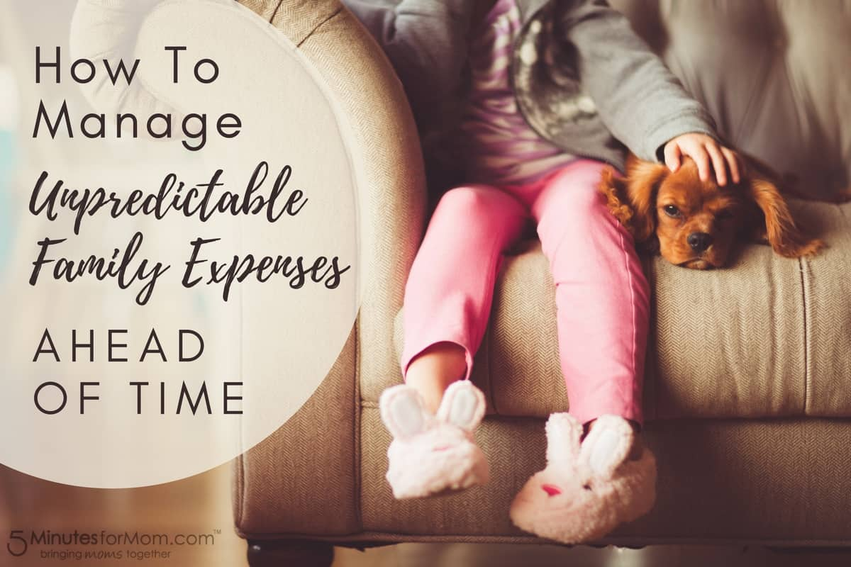 How To Manage Unpredictable Family Expenses Ahead Of Time