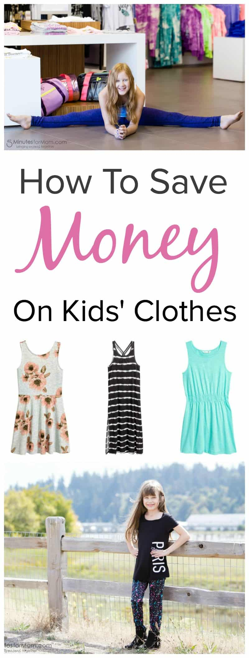 How to Save Money on Kids Clothes