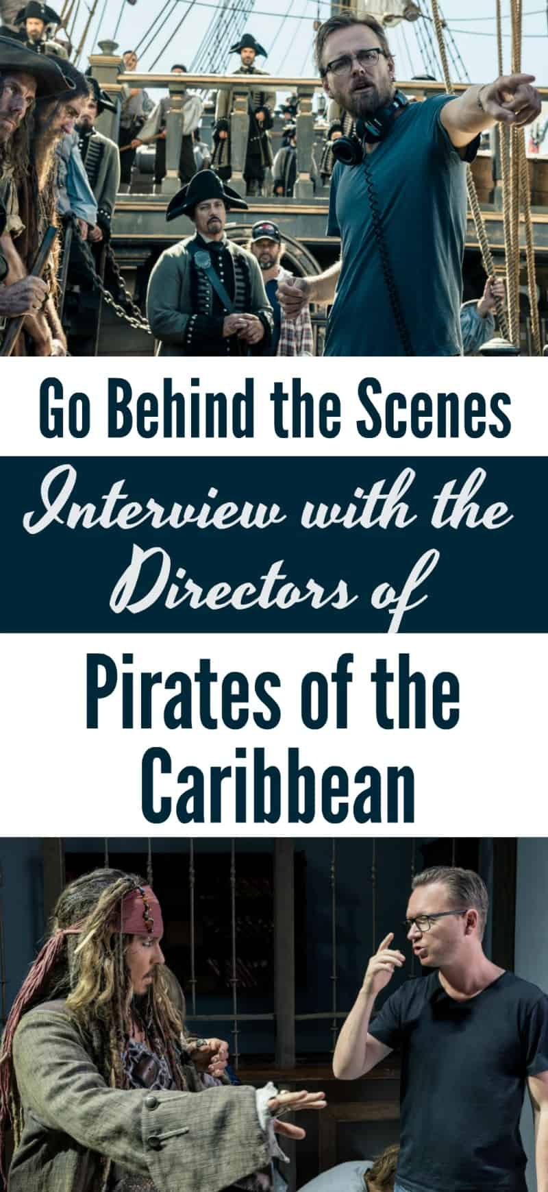 Interview with Pirates of the Caribbean Directors