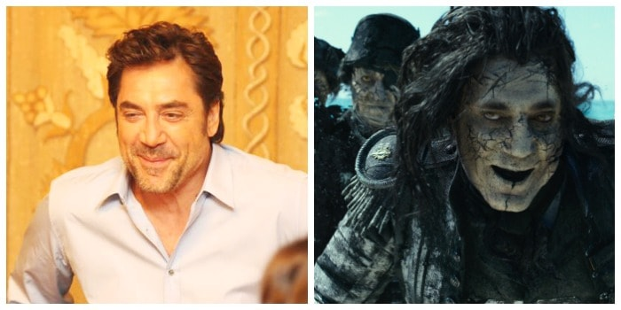 Javier Bardem as Captain Salazar in Pirates of the Caribbean: Dead Men Tell No Tales