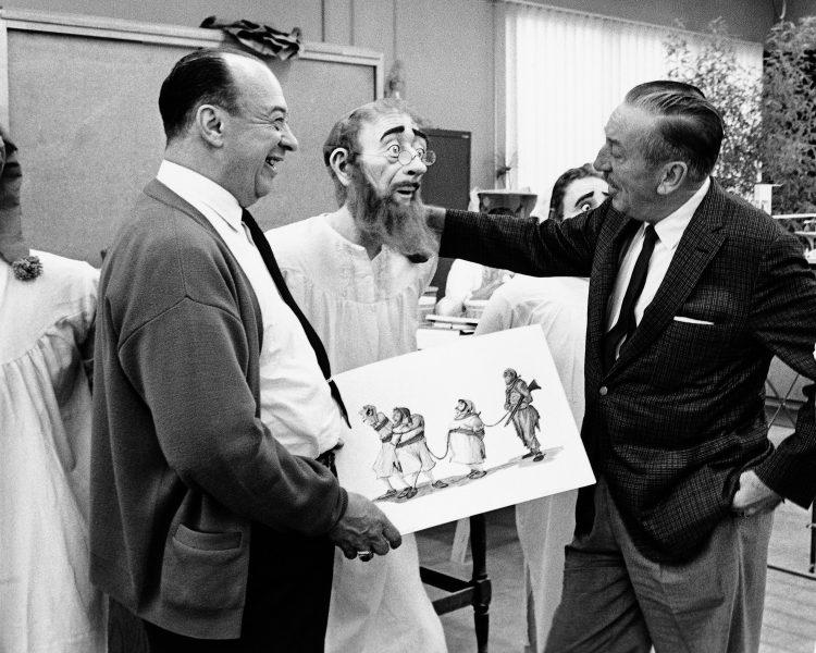 Marc Davis and Walt Disney -