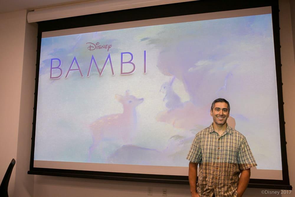 Paul Felix - With Bambi Sign