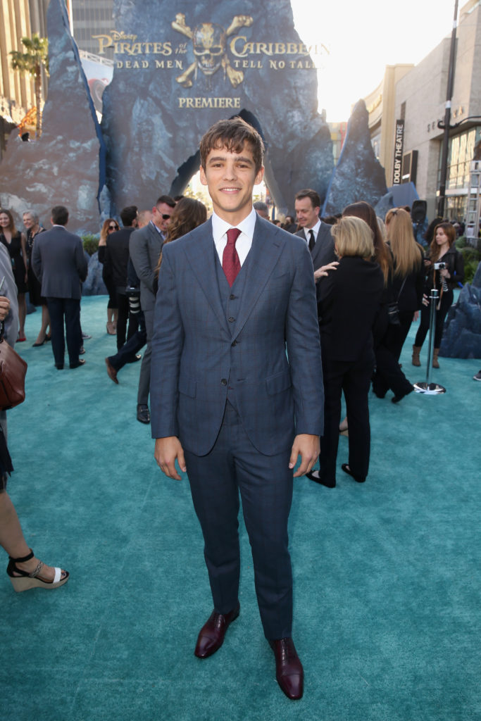 Pirates of the Caribbean: Dead Men Tell No Tales Hollywood Premiere Brenton Thwaites