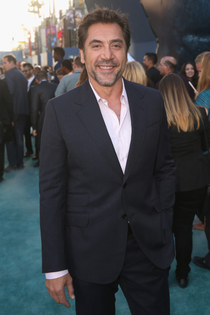 Pirates of the Caribbean: Dead Men Tell No Tales Hollywood Premiere Javier Bardem