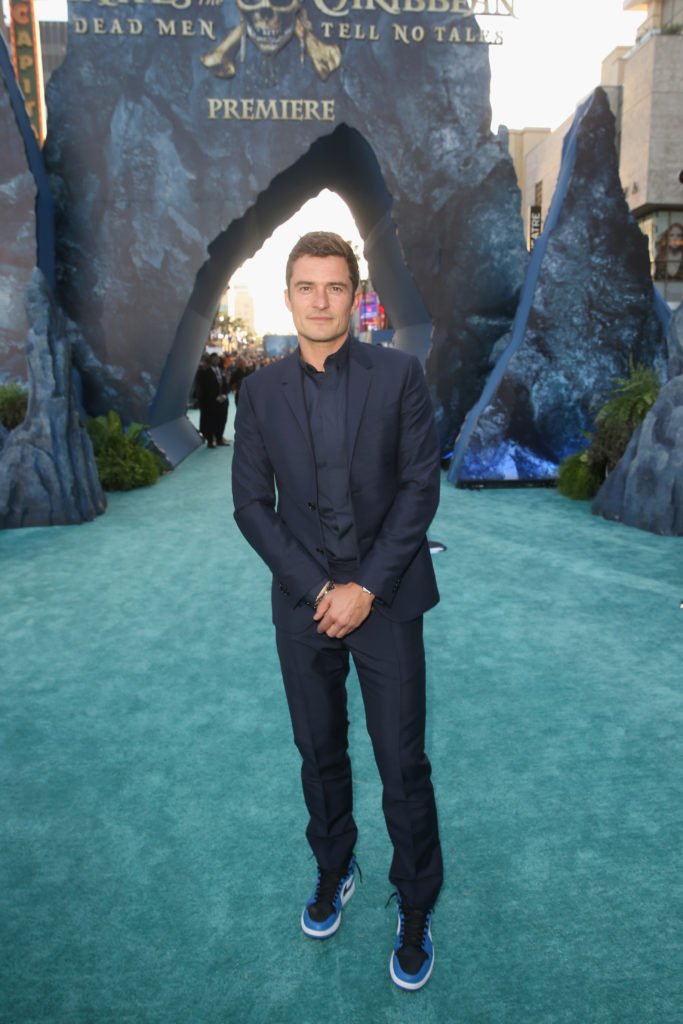 Pirates of the Caribbean: Dead Men Tell No Tales Hollywood Premiere Orlando Bloom