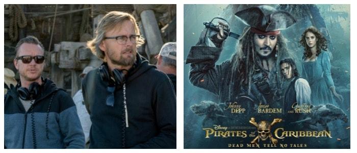 Pirates of the Caribbean Directors Joachim Ronning and Espen Sandberg