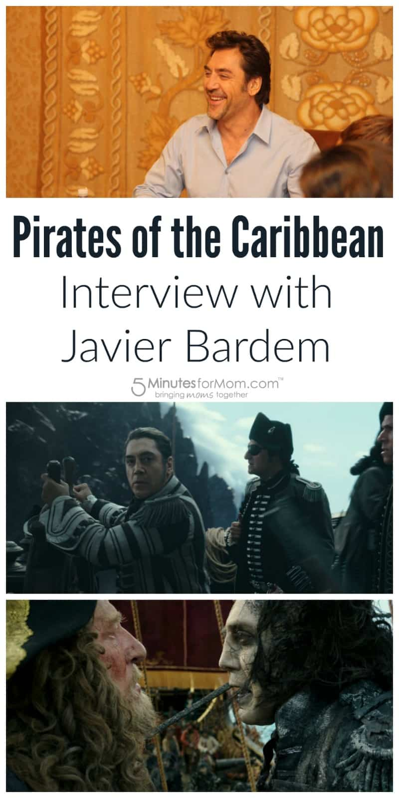 Pirates of the Caribbean Interview with Javier Bardem