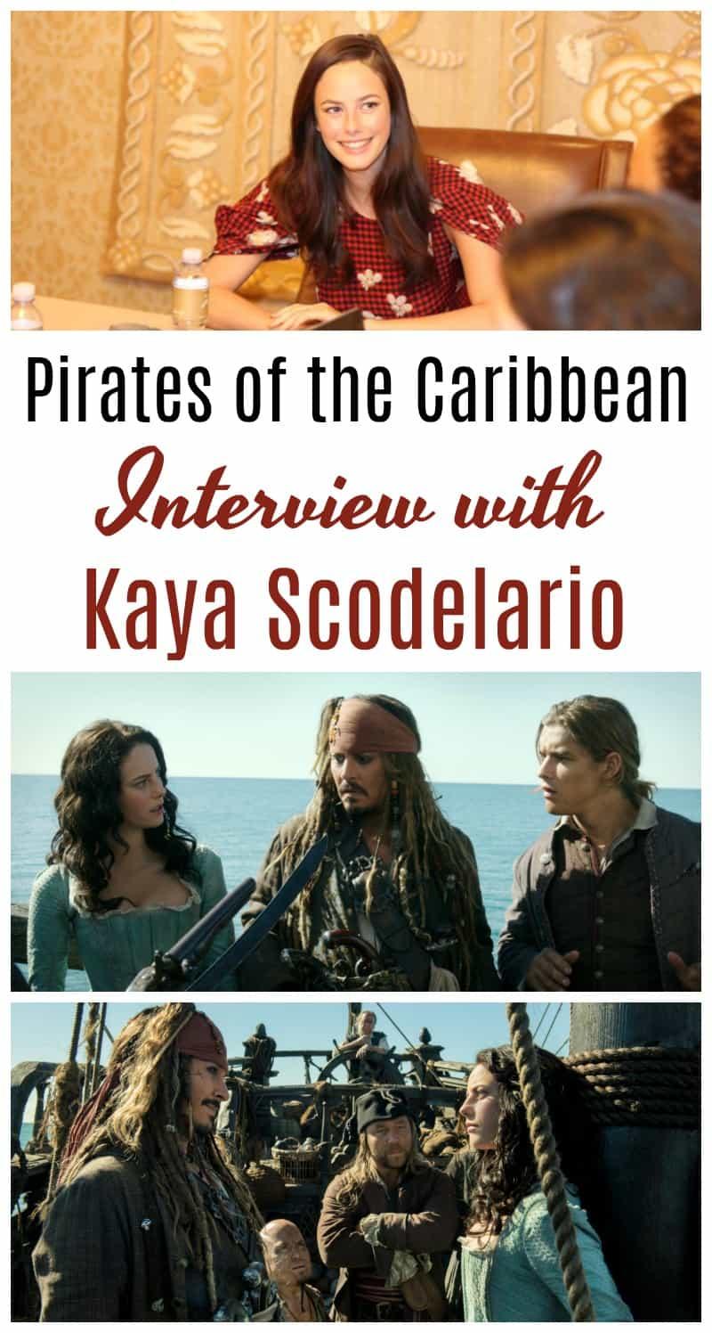 Pirates of the Caribbean Interview with Kaya Scodelario