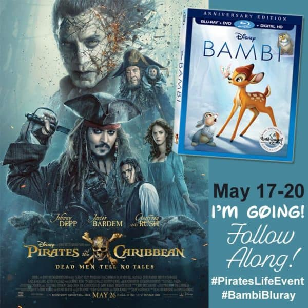 We're Going! Pirates of the Caribbean Media Event #PiratesLifeEvent
