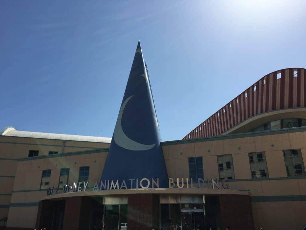 Roy E Disney Animation Building