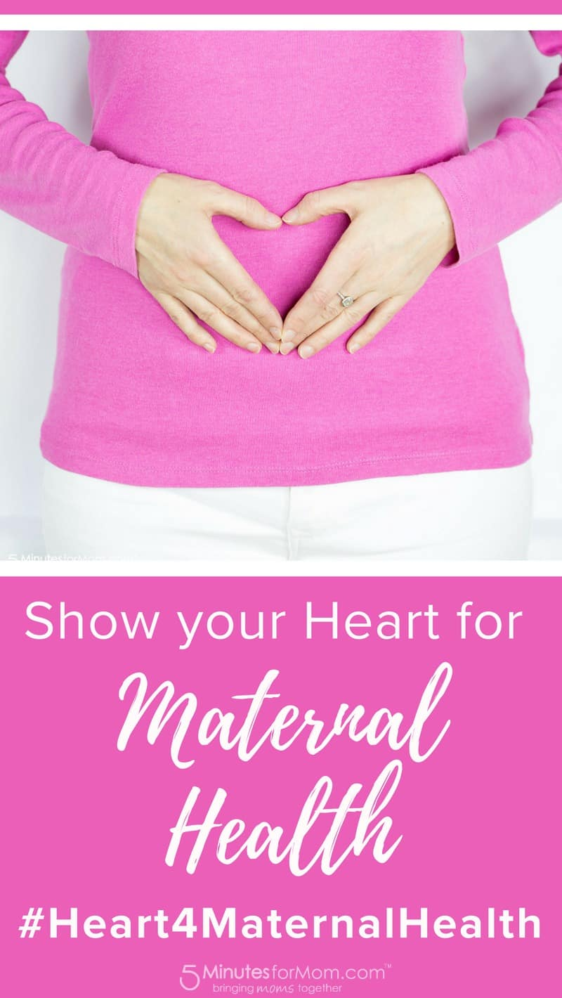 Show your Heart for Maternal Health