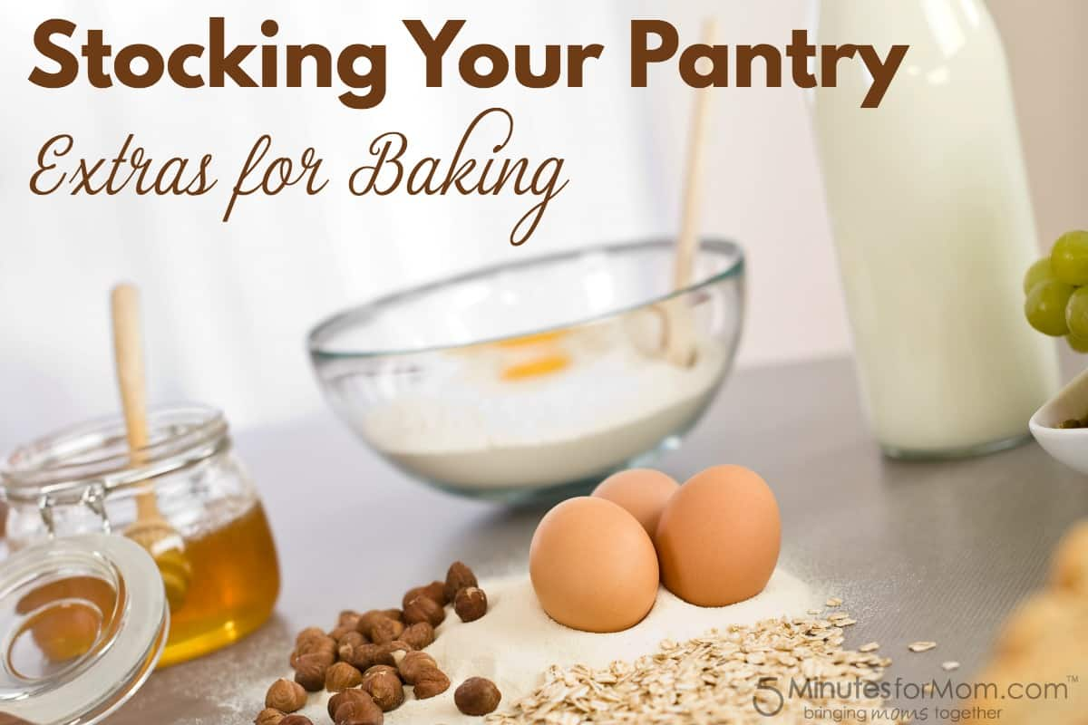 Stocking your pantry for baking