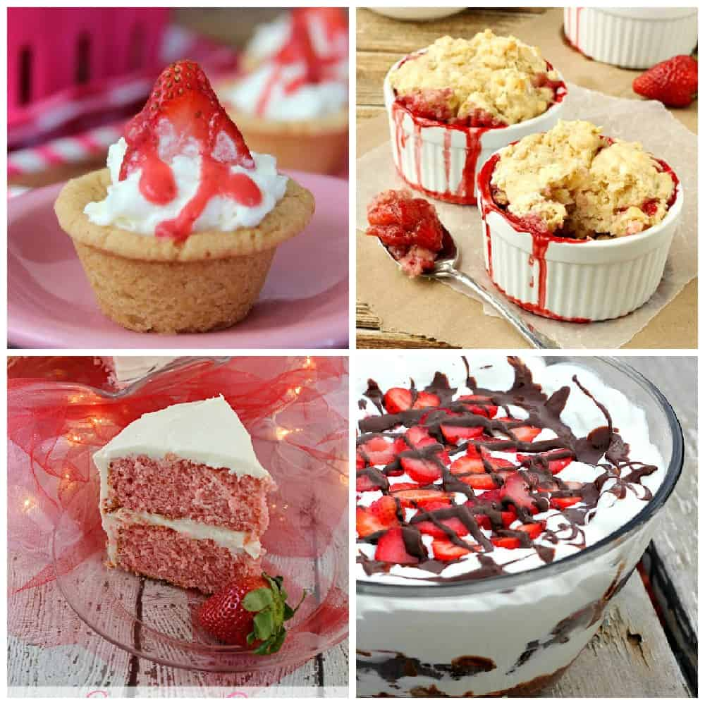Strawberry Desserts Part 2