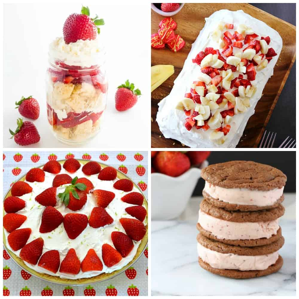 Strawberry Desserts Part 3