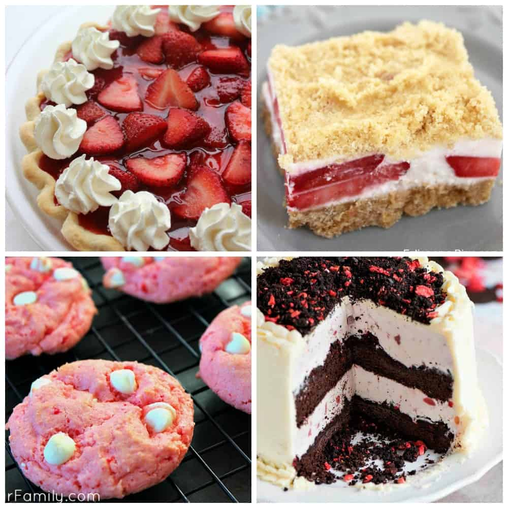 Strawberry Desserts Part 4