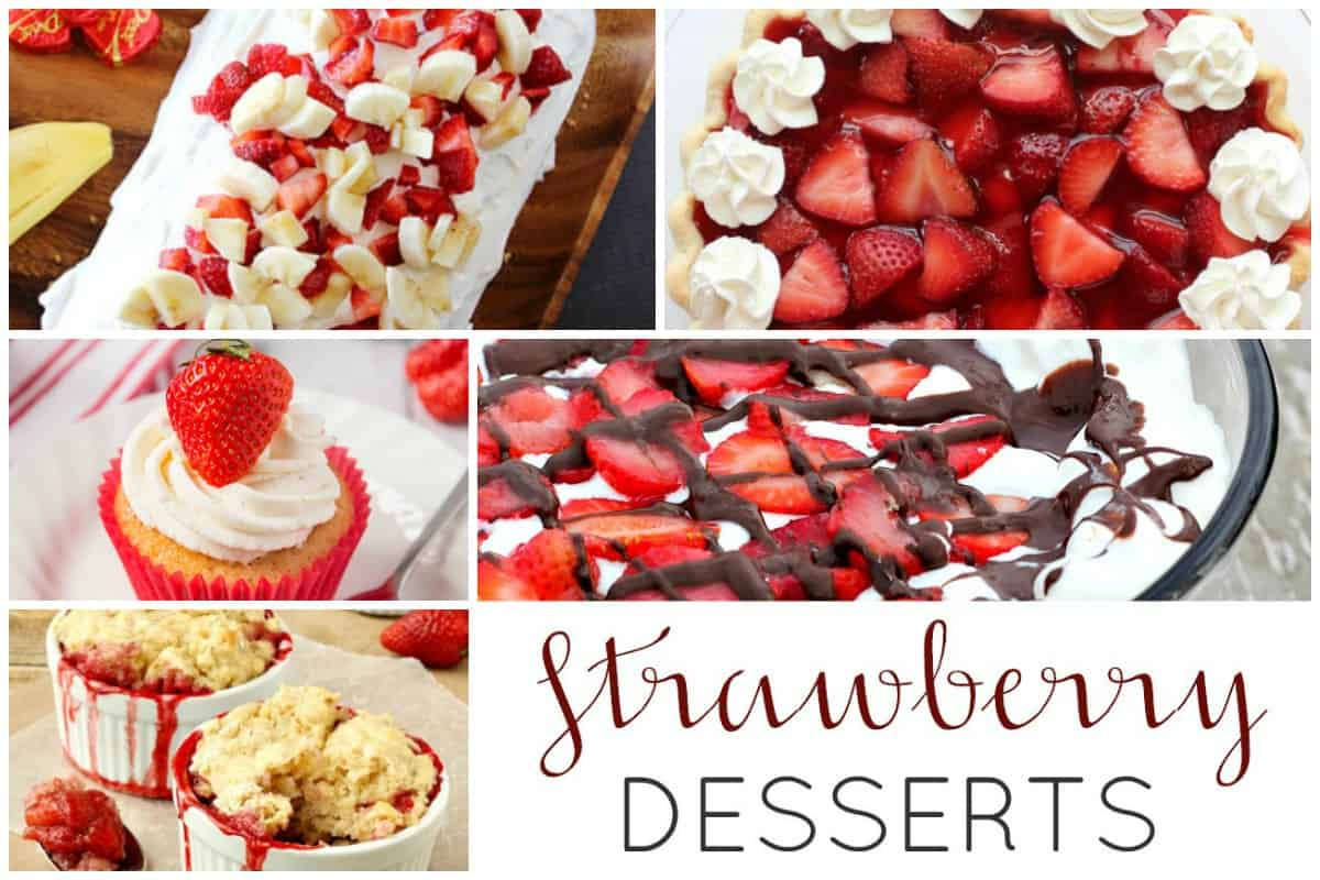 Sweet Strawberry Desserts