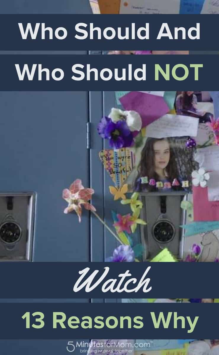 Who Should and Who Should Not Watch 13 Reasons Why