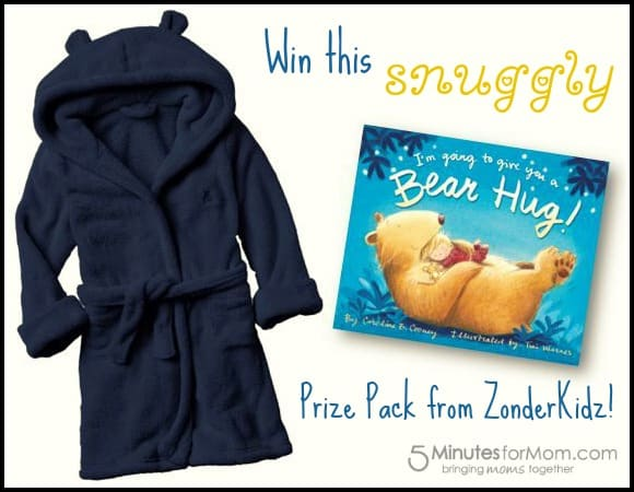 Snuggly Giveaway with I'm Going to Give You a Bear Hug!