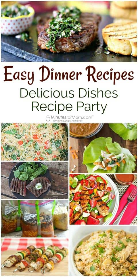 Easy Dinner Recipes - Delicious Dishes