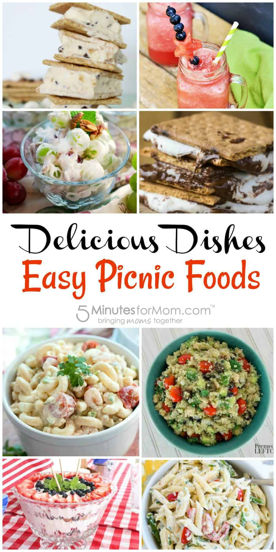 Easy Picnic Food - Delicious Dishes Recipe Party