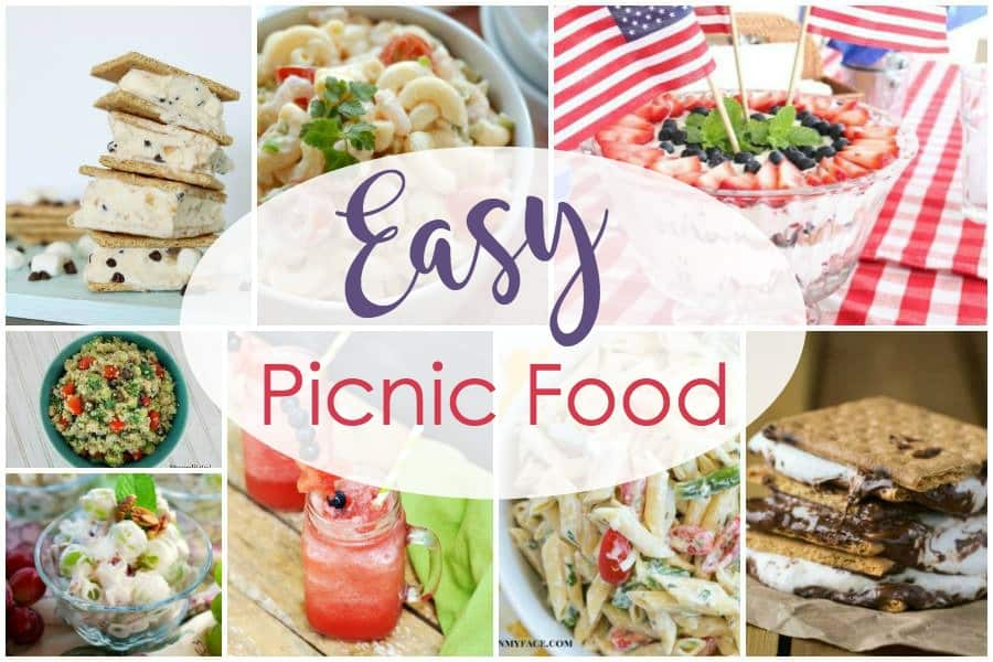 Easy Picnic Food and our Delicious Dishes Recipe Party - 5 ...