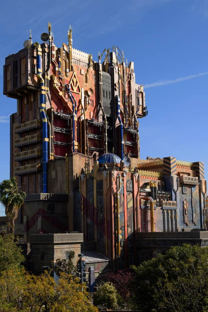Guardians of the Galaxy- Mission: BREAKOUT at Disney California Adventure