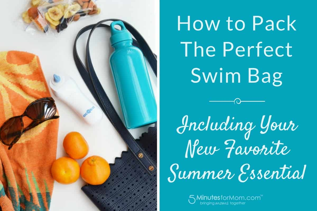 How To Pack The Perfect Swim Bag - Including Your New Favorite Essential