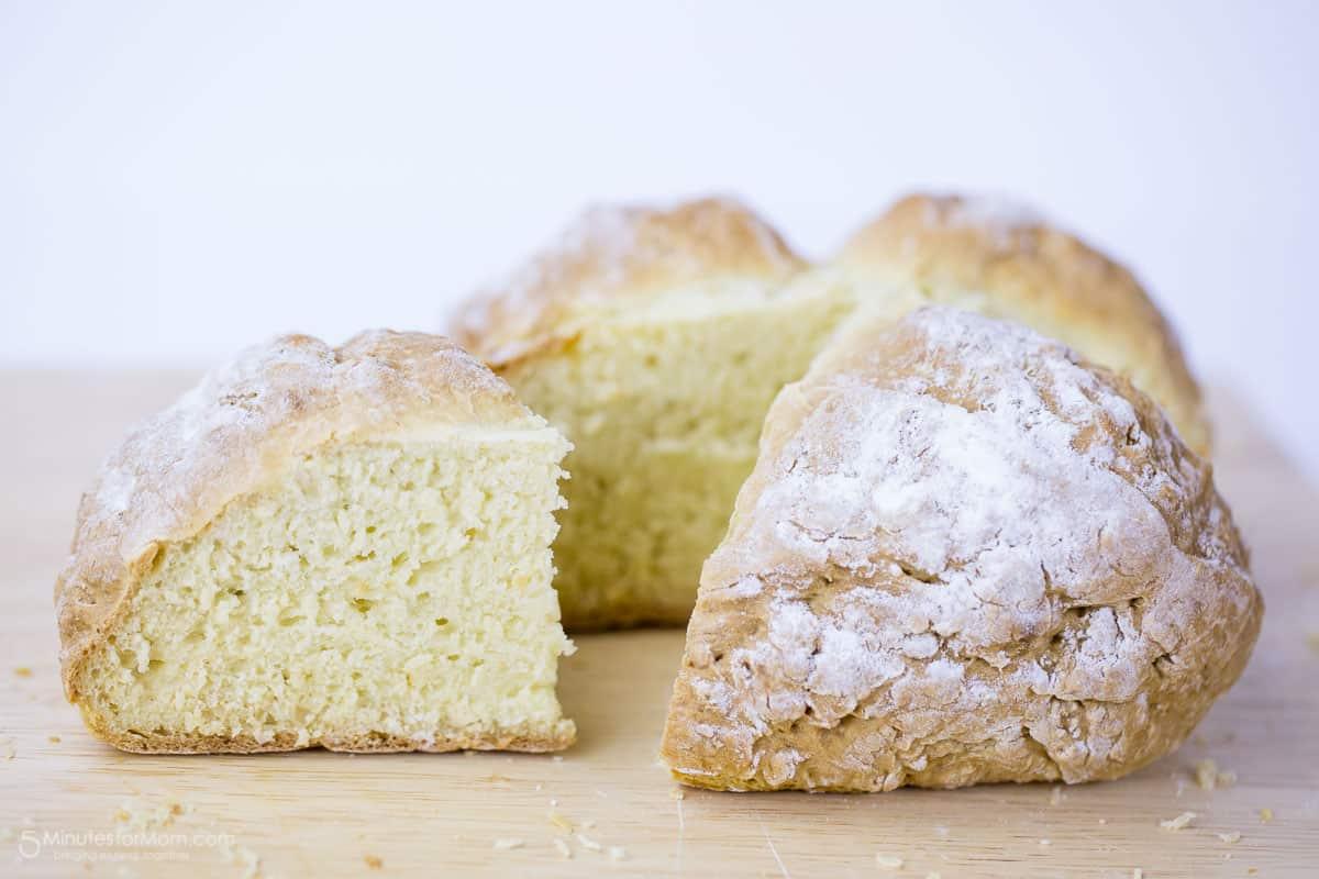 Traditional Irish Soda Bread Recipe and History - 5 Minutes for Mom