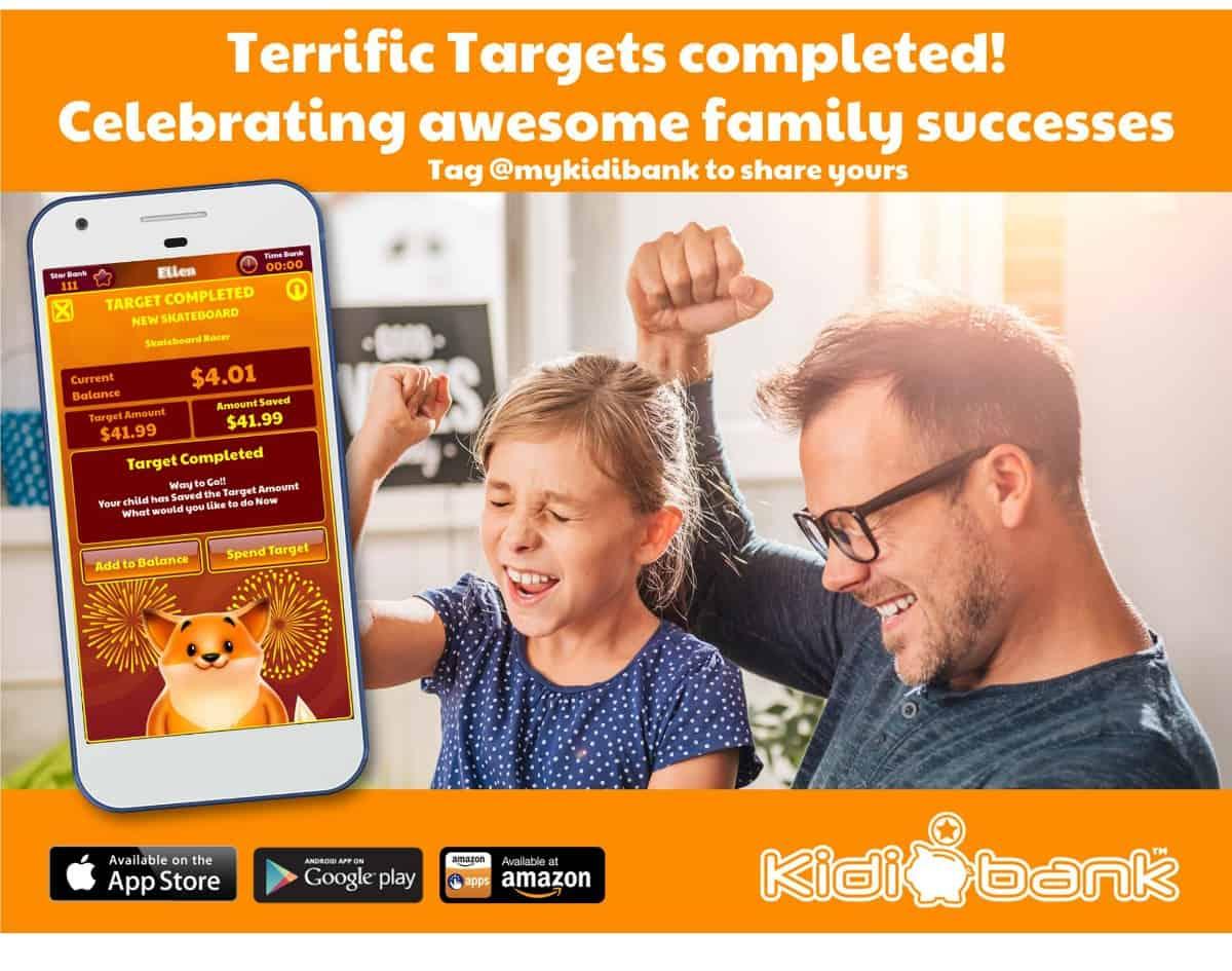 Kidibank Targets