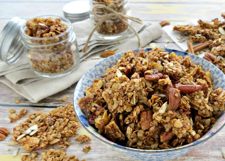 Nutty Homemade Granola Recipe