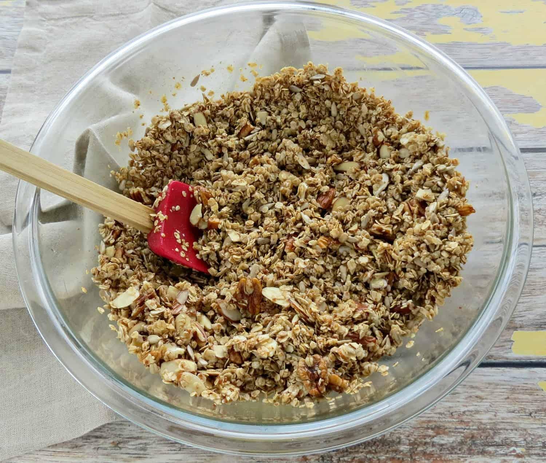 Nutty Homemade Granola Recipe Step 1