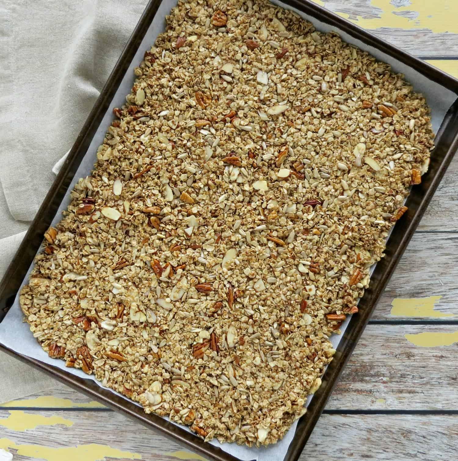Nutty Homemade Granola Recipe Step 2